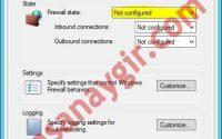 Group Policy ile Windows Güvenlik Duvarını Kapatma 3